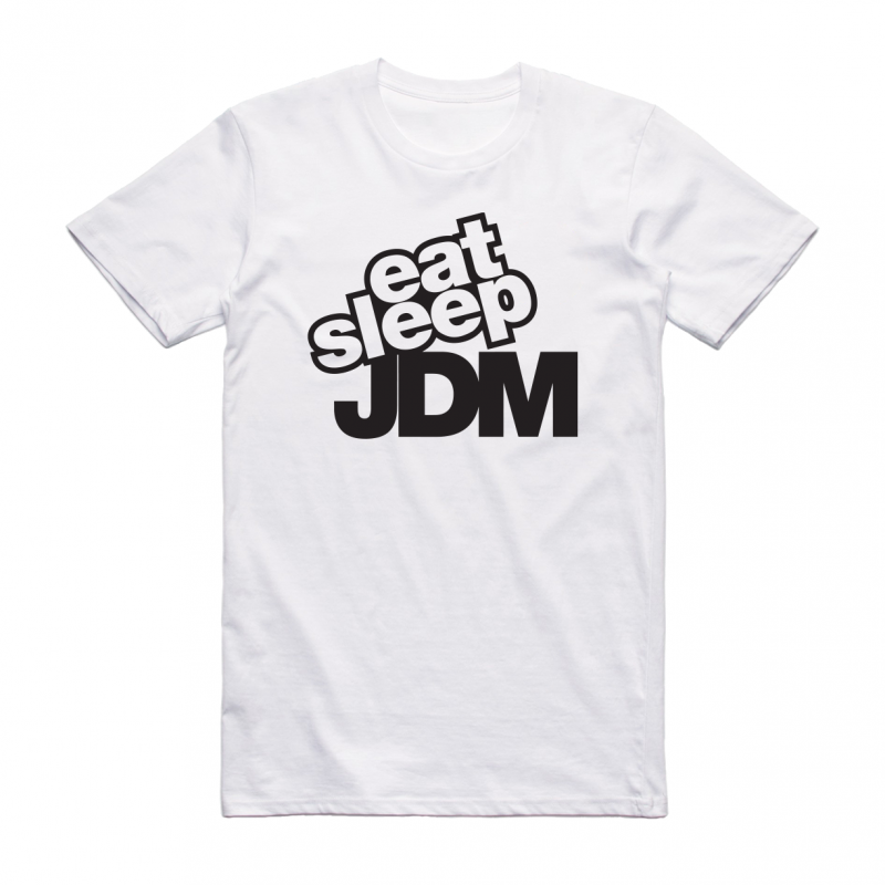 Eat Sleep JDM - mintás póló