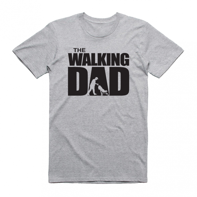 The walking dad - mintás póló
