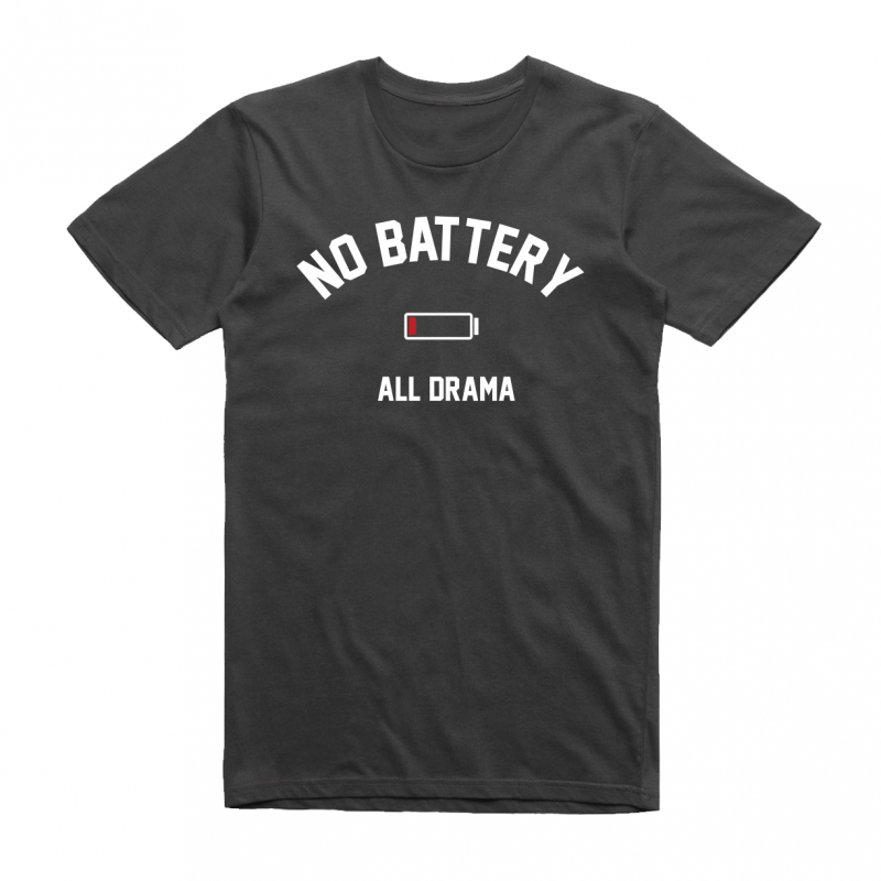 No battery - mintás póló